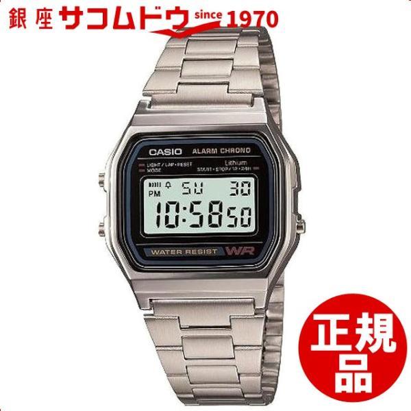 7620fbf625 カシオ CASIO 腕時計 スタンダード A158WA-1JF メンズ[メール便 日時指定代引不可 ...