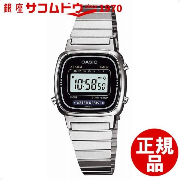 ddba60c04c カシオ CASIO 腕時計 スタンダード LA-670WA-1JF LA670WA-1 レディース [メール便 ...