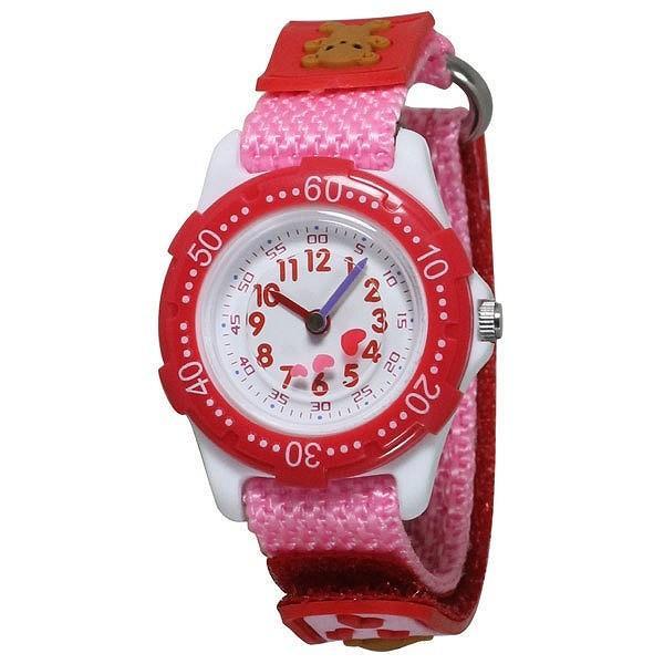 272ab0b87c ... CREPHA 腕時計 アナログ表示 3気圧防水 BAK-4143-PK [キッズ腕時計]