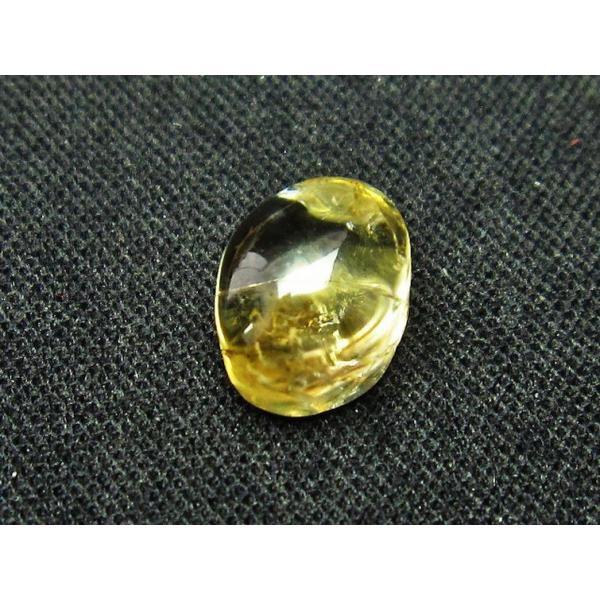 シトリン水晶 ルース t358-1534