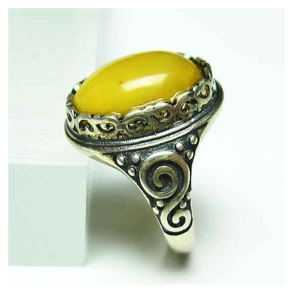 アンバー 琥珀 指輪 t746-2682