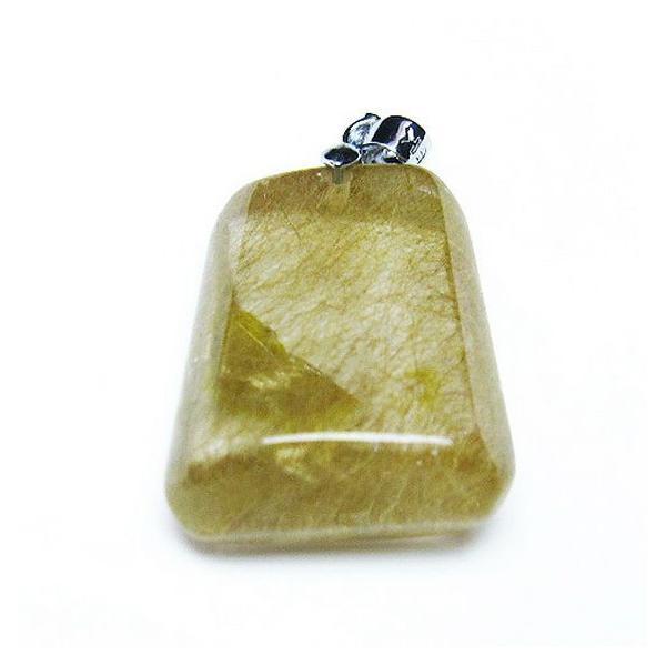 ルチルクォーツ(金針ルチル水晶) ペンダント  t86-5716