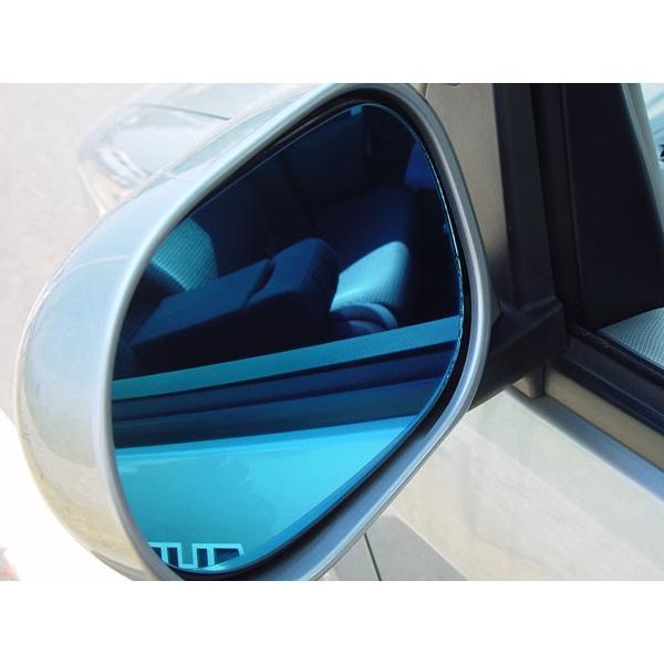 アウトバーン 広角ドレスアップサイドミラー/ブルー フェラーリ 328