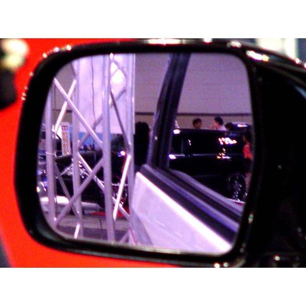 アウトバーン 広角ドレスアップサイドミラー/ピンクパープル アウディ A6アバント・セダン 97/09〜04/09