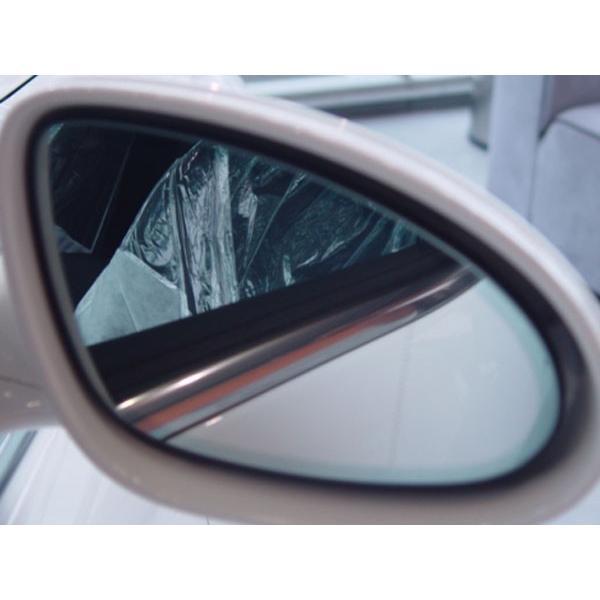 アウトバーン 広角ドレスアップサイドミラー/シルバー BMW 7シリーズ(E38) 94/11〜01/09