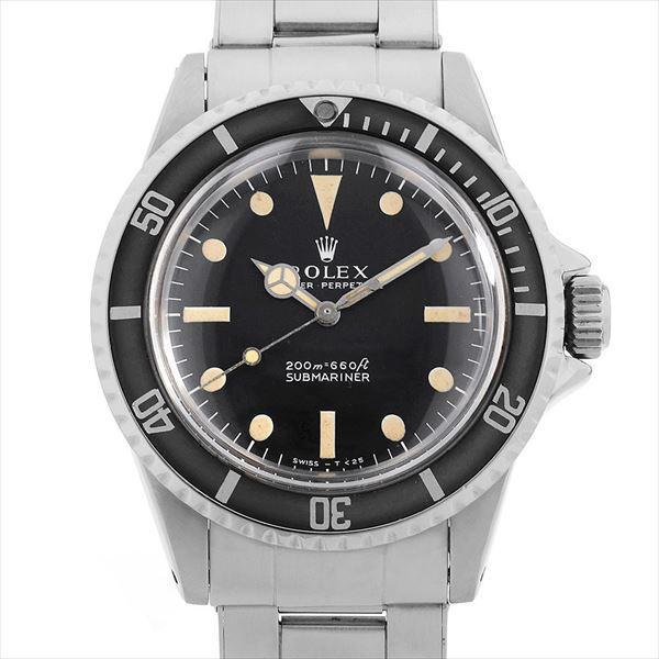 51718fdbf6 48回払いまで無金利 ロレックス サブマリーナ 5513 フチ有り 14番 アンティーク メンズ 腕時計 ...