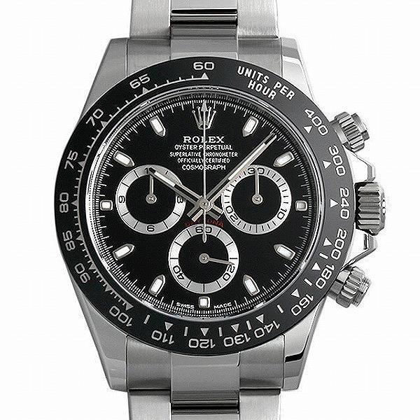 60回払い無金利ロレックスコスモグラフデイトナ116500LNブラック新品メンズ腕時計
