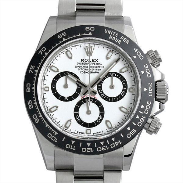 60回払い無金利ロレックスコスモグラフデイトナ116500LNホワイト新品メンズ腕時計