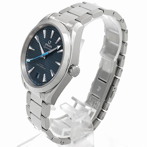 48回払いまで無金利 オメガ シーマスター アクアテラ 150m コーアクシャル マスタークロノメーター 220.10.41.21.03.002 新品 メンズ 腕時計|ginzarasin|02