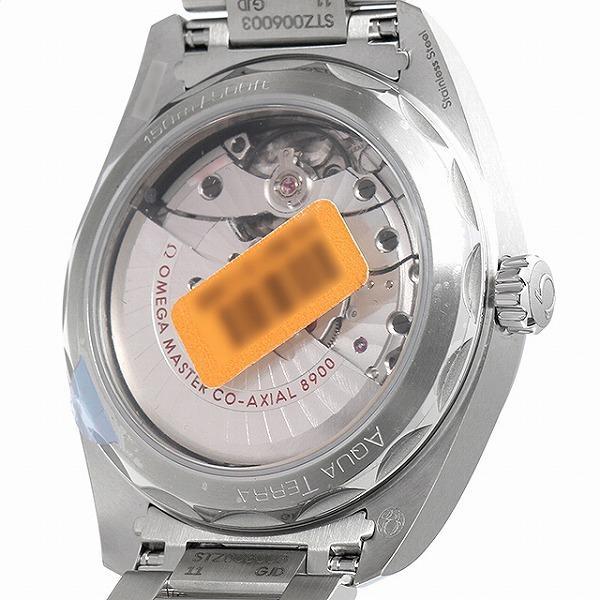48回払いまで無金利 オメガ シーマスター アクアテラ 150m コーアクシャル マスタークロノメーター 220.10.41.21.03.002 新品 メンズ 腕時計|ginzarasin|03