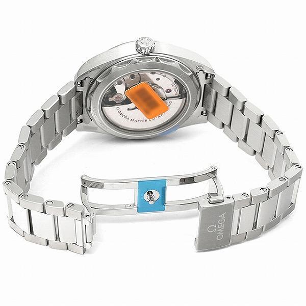 48回払いまで無金利 オメガ シーマスター アクアテラ 150m コーアクシャル マスタークロノメーター 220.10.41.21.03.002 新品 メンズ 腕時計|ginzarasin|04