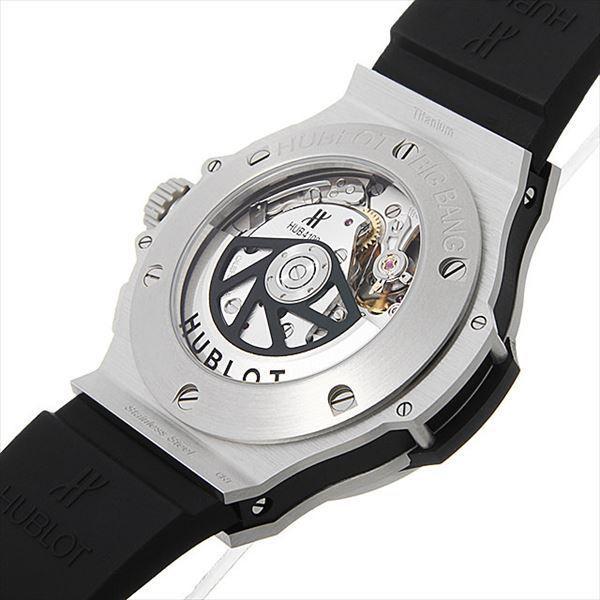 48回払いまで無金利 ウブロ ビッグバン スティール 301.SX.1170.RX 新品 メンズ 腕時計|ginzarasin|03