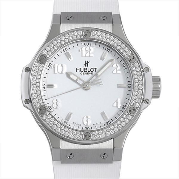 48回払いまで無金利 ウブロ ビッグバン スチールホワイト ダイヤモンド 361.SE.2010.RW.1104 新品 レディース 腕時計 ginzarasin