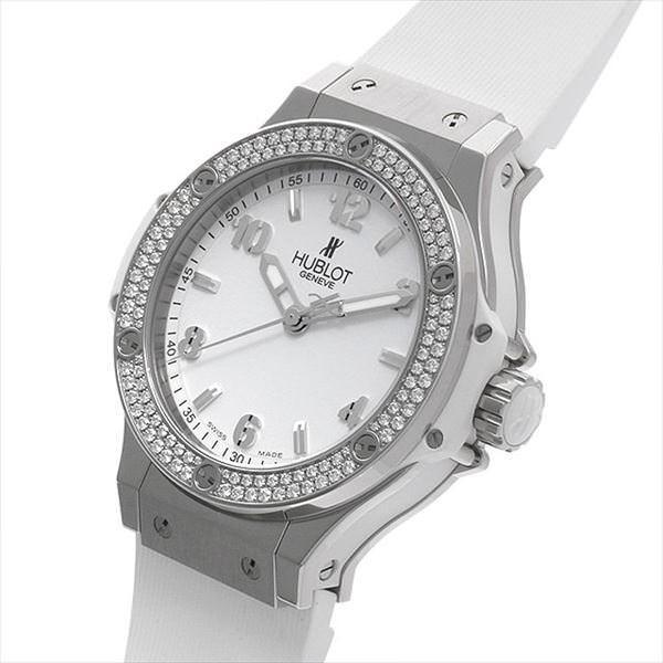 48回払いまで無金利 ウブロ ビッグバン スチールホワイト ダイヤモンド 361.SE.2010.RW.1104 新品 レディース 腕時計 ginzarasin 02