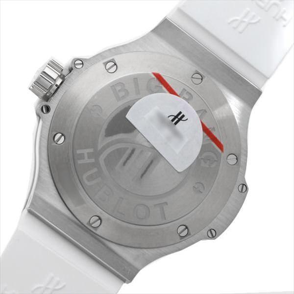 48回払いまで無金利 ウブロ ビッグバン スチールホワイト ダイヤモンド 361.SE.2010.RW.1104 新品 レディース 腕時計 ginzarasin 03