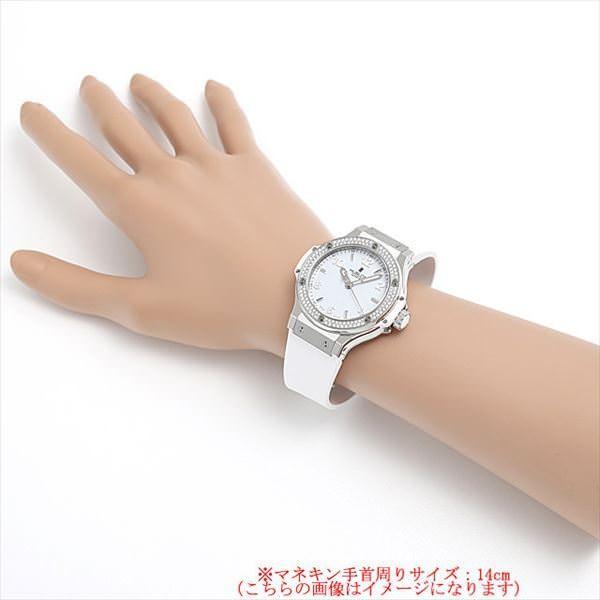 48回払いまで無金利 ウブロ ビッグバン スチールホワイト ダイヤモンド 361.SE.2010.RW.1104 新品 レディース 腕時計 ginzarasin 05