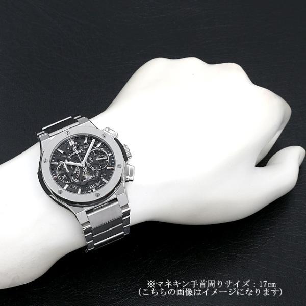 48回払いまで無金利 ウブロ アエロフュージョン チタニウム ブレスレット 528.NX.0170.NX 新品 メンズ 腕時計|ginzarasin|05