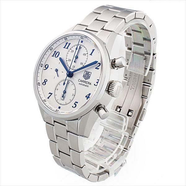 48回払いまで無金利 タグホイヤー カレラ ヘリテージ クロノグラフ キャリバー16 CAS2111.BA0730 新品 メンズ 腕時計|ginzarasin|02