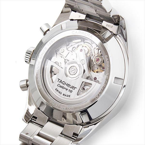 48回払いまで無金利 タグホイヤー カレラ ヘリテージ クロノグラフ キャリバー16 CAS2111.BA0730 新品 メンズ 腕時計|ginzarasin|03