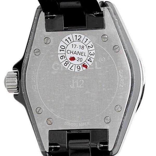 48回払いまで無金利 シャネル J12 黒セラミック H0682 新品 レディース ginzarasin 03