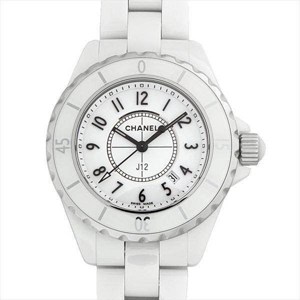48回払いまで無金利 シャネル J12 白セラミック H0968 新品 レディース 腕時計|ginzarasin