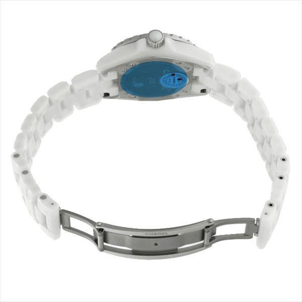 48回払いまで無金利 シャネル J12 白セラミック H0968 新品 レディース 腕時計|ginzarasin|04
