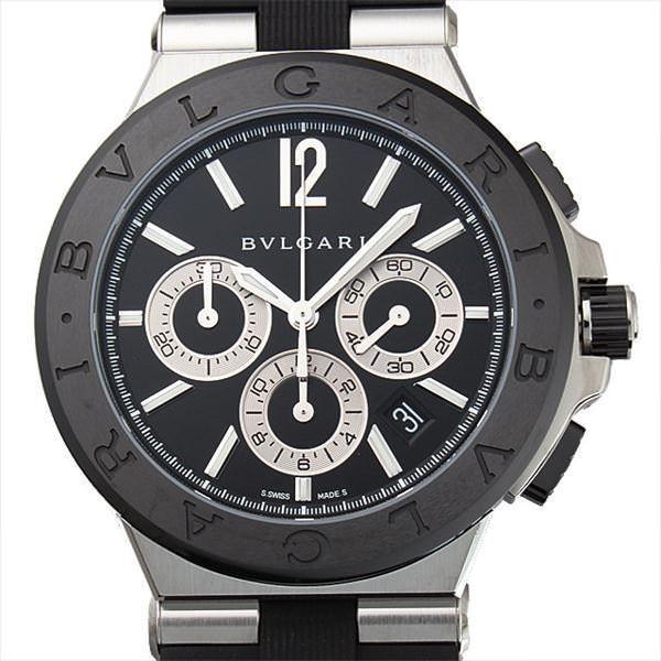 48回払いまで無金利 ブルガリ ディアゴノ セラミック DG42BSCVDCH 新品 メンズ 腕時計48回払いまで無金利|ginzarasin