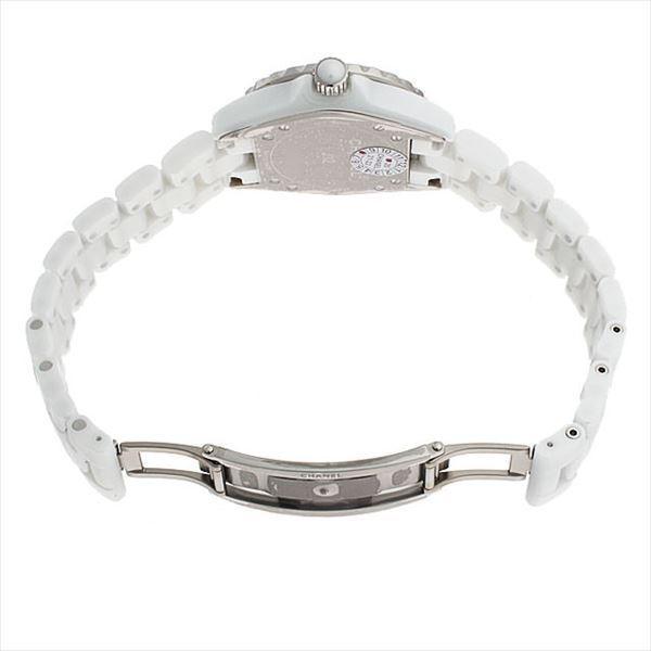 48回払いまで無金利 シャネル J12 白セラミック 12Pダイヤ H1628 新品 レディース 腕時計|ginzarasin|04