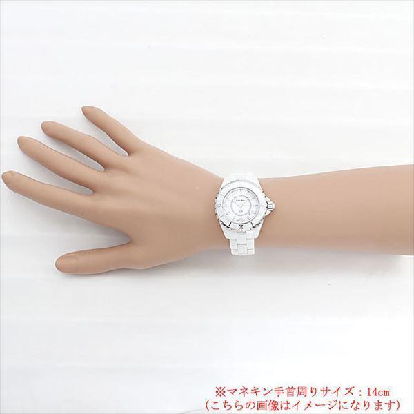 48回払いまで無金利 シャネル J12 白セラミック 12Pダイヤ H1628 新品 レディース 腕時計|ginzarasin|05