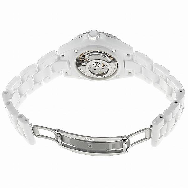 48回払いまで無金利 シャネル J12 白セラミック 12Pダイヤ キャリバー12.1 H5705 新品 メンズ 腕時計|ginzarasin|04