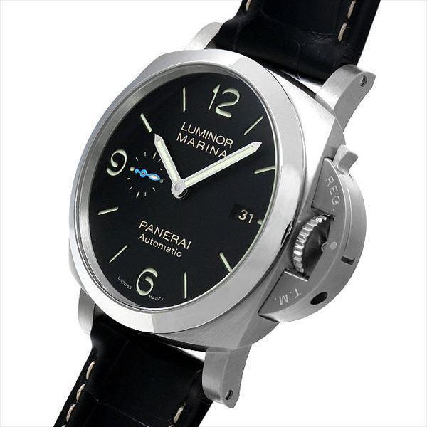 48回払いまで無金利 パネライ ルミノール マリーナ 1950 3DAYS オートマティック アッチャイオ PAM01312 新品 メンズ 腕時計|ginzarasin|02