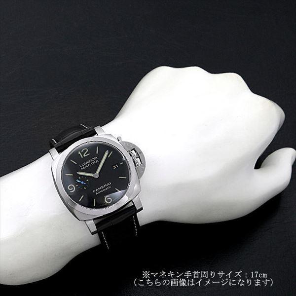 48回払いまで無金利 パネライ ルミノール マリーナ 1950 3DAYS オートマティック アッチャイオ PAM01312 新品 メンズ 腕時計|ginzarasin|05