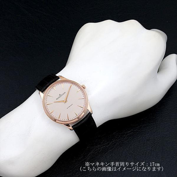 48回払いまで無金利 ジャガールクルト マスターウルトラスリム Q1332511 新品 メンズ 腕時計|ginzarasin|04