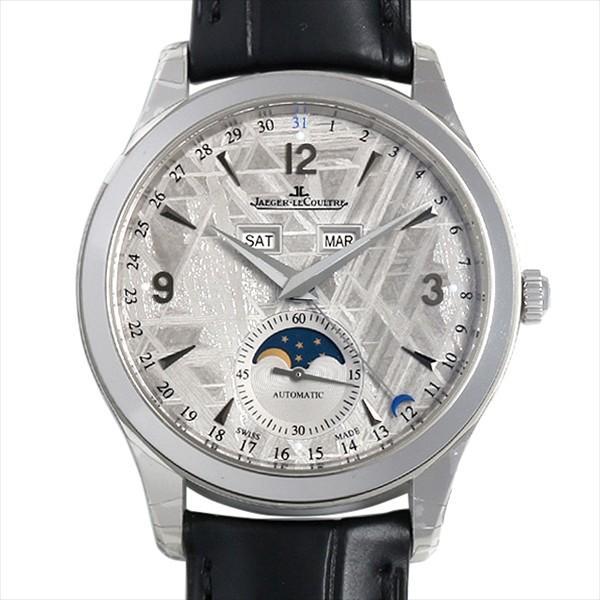 48回払いまで無金利 ジャガールクルト マスターカレンダー Q1558421(176.8.12.S) 新品 メンズ 腕時計|ginzarasin