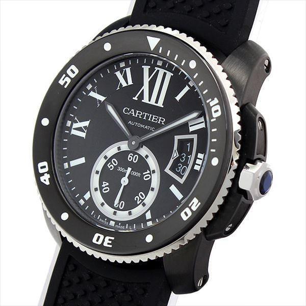 0340f42121 ... 48回払いまで無金利 カルティエ カリブル ドゥ カルティエ ダイバー WSCA0006 新品 メンズ 腕時計| ...
