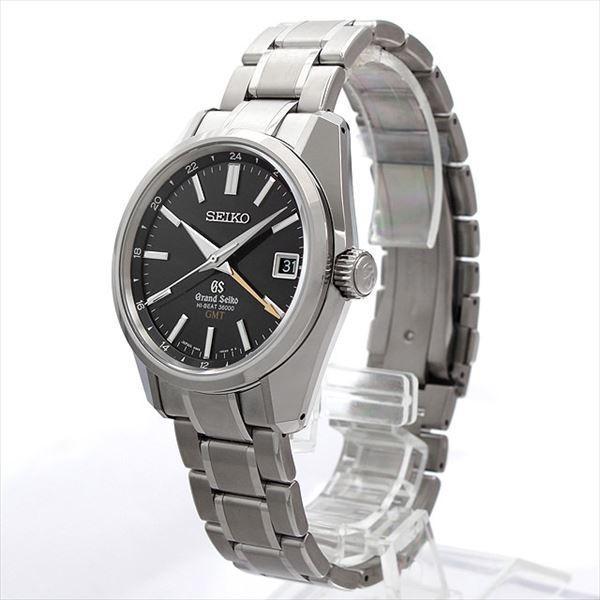 48回払いまで無金利 グランドセイコー メカニカルハイビートGMT マスターショップ限定 SBGJ013 未使用 メンズ 腕時計|ginzarasin|02