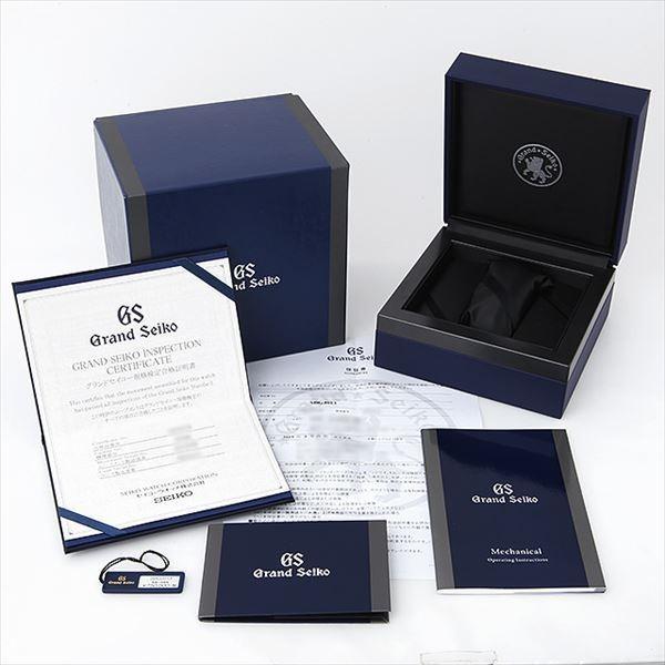 48回払いまで無金利 グランドセイコー メカニカルハイビートGMT マスターショップ限定 SBGJ013 未使用 メンズ 腕時計|ginzarasin|06