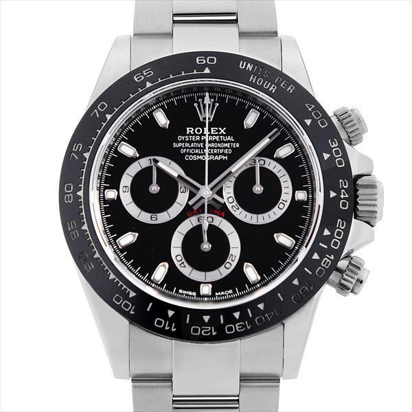 60回払い無金利ロレックスコスモグラフデイトナ116500LNブラック中古メンズ腕時計