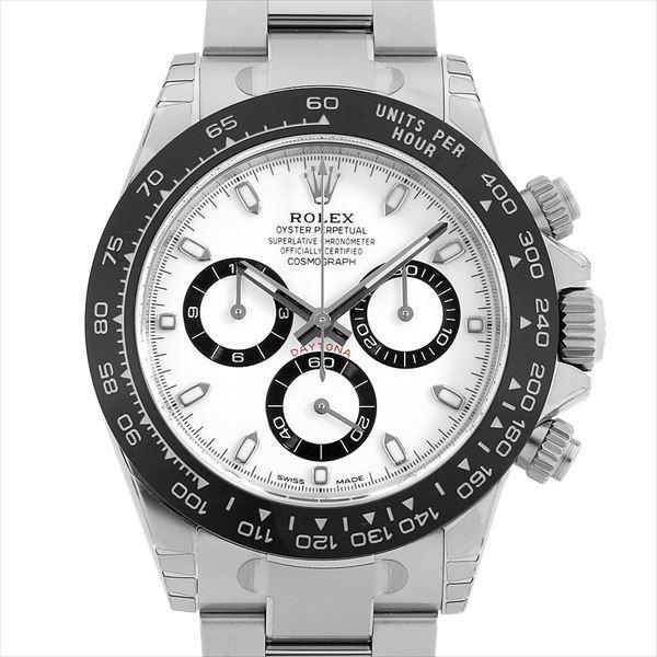 60回払い無金利ロレックスコスモグラフデイトナ116500LNホワイト中古メンズ腕時計