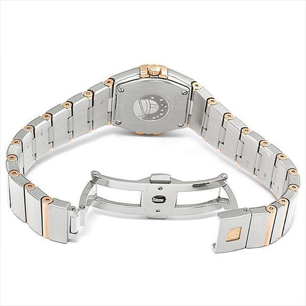 48回払いまで無金利 オメガ コンステレーション ブラッシュ クォーツ 123.25.24.60.57.002 中古 レディース 腕時計