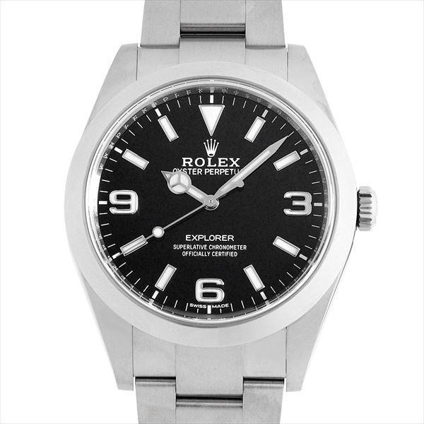 48回払いまで無金利 ロレックス エクスプローラー 214270 最新型 中古 メンズ 腕時計|ginzarasin