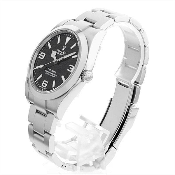 48回払いまで無金利 ロレックス エクスプローラー 214270 最新型 中古 メンズ 腕時計|ginzarasin|02