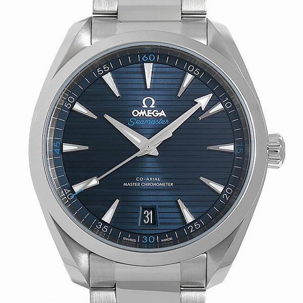 48回払いまで無金利 オメガ シーマスター アクアテラ コーアクシャルマスター クロノメーター 41MM 220.10.41.21.03.001 中古 メンズ 腕時計|ginzarasin