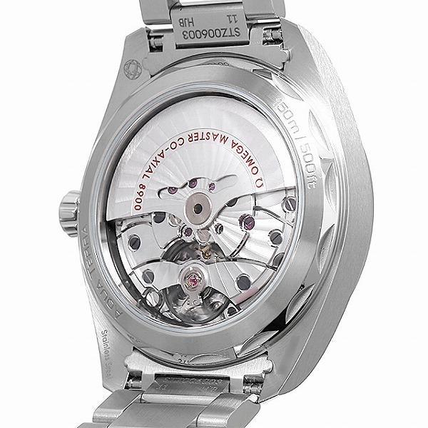 48回払いまで無金利 オメガ シーマスター アクアテラ コーアクシャルマスター クロノメーター 41MM 220.10.41.21.03.001 中古 メンズ 腕時計|ginzarasin|03