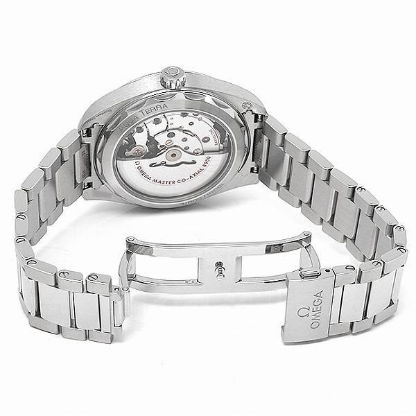 48回払いまで無金利 オメガ シーマスター アクアテラ コーアクシャルマスター クロノメーター 41MM 220.10.41.21.03.001 中古 メンズ 腕時計|ginzarasin|04