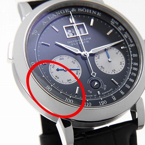 48回払いまで無金利 ランゲ&ゾーネ ダトグラフ アップアンドダウン 405.035(LS4052AD) 中古 メンズ 腕時計 ginzarasin 06