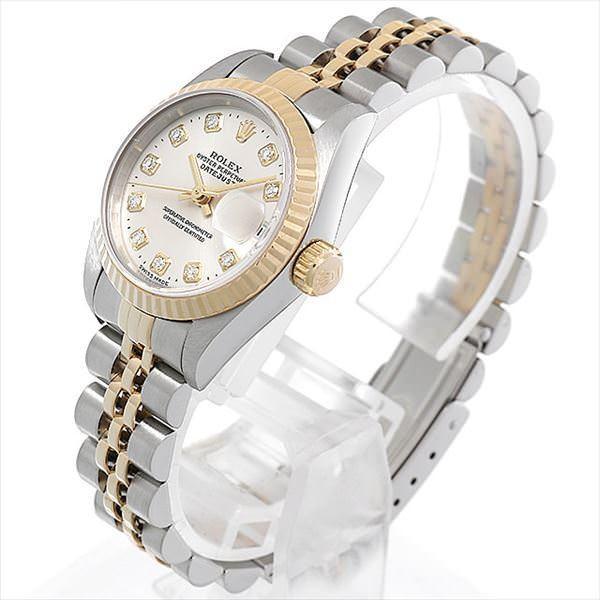 wholesale dealer 84f19 5a460 48回払いまで無金利 ロレックス 中古 腕時計 デイトジャスト 10P ...