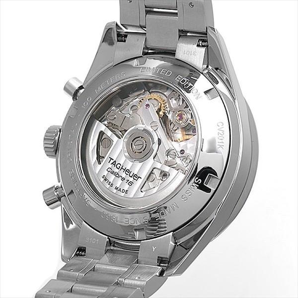 release date f759e fd725 48回払いまで無金利 タグホイヤー カレラ クロノグラフ ブラックパール CV201K.BA0794 中古 メンズ 腕時計
