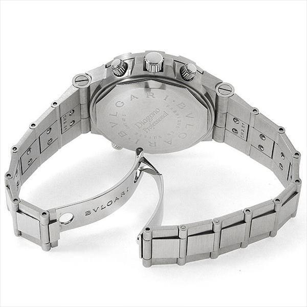 48回払いまで無金利 ブルガリ ディアゴノ プロフェッショナル GMT GMT40SSD 中古 メンズ 腕時計|ginzarasin|03