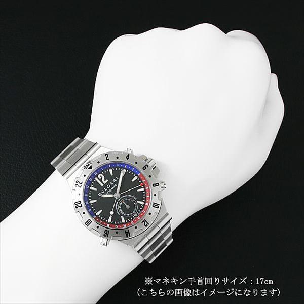48回払いまで無金利 ブルガリ ディアゴノ プロフェッショナル GMT GMT40SSD 中古 メンズ 腕時計|ginzarasin|04